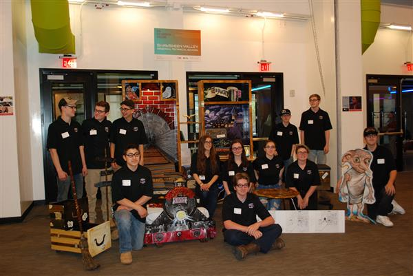 Shawsheen Tech Scores Big at the Eco-Carpentry Challenge in Boston