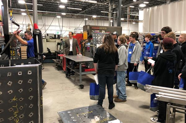 Shawsheen Students Participate in Manufacturing Day 2019!
