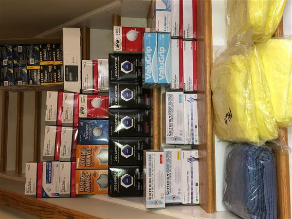Shawsheen Valley Technical High School Donates Medical Supplies and Personal Protective Equipment